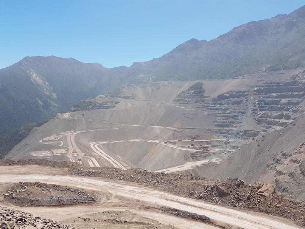 El Soldado copper mine anglo american block model strategic scheduling